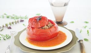 Variations sur le thème de la tomate farcie