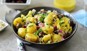 Salade de pomme de terre à la vinaigrette