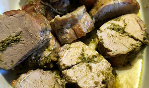 Filets mignons au pesto