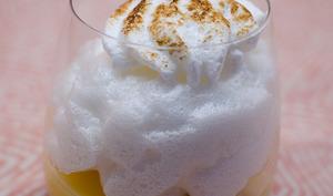 Verrine de tarte au citron meringuée