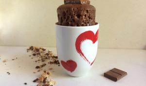 Mug cake aux deux chocolats