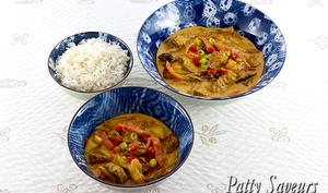 Boeuf au curry rouge Thai