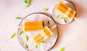 Bâtonnets glacés mangue – yaourt –