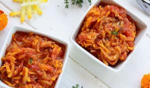 Compotée courgettes et tomates