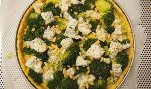 Tarte brocoli et gorgonzola