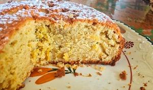 Gâteau italien citron et mascarpone