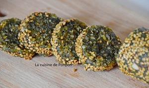 Barre énergétique aux noix de macadamia et spiruline, vegan