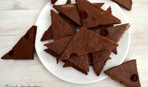 Triangle choco-framboise