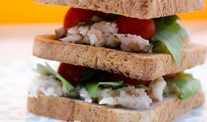 Club sandwich au crabe