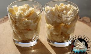 Mousse glacée à la pomme