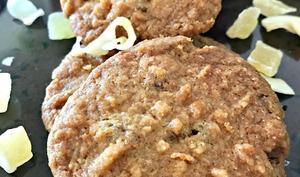 Les biscuits croustillants coco et ananas