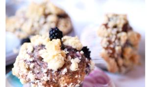 Muffin léger à la mûre