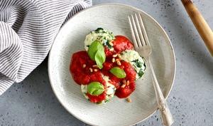 Dumplings ricotta-épinards et sauce tomate