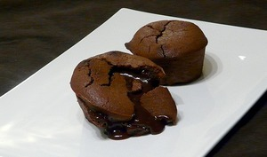 Moelleux coeur coulant au chocolat