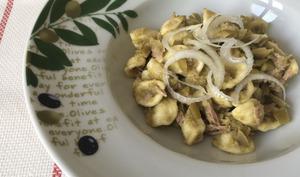 Orecchiette aux olives de Cerignola et thon