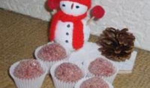 Bonbons de Noël aux Griottes et Biscuits Roses