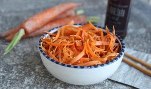 Salade de carottes au sésame