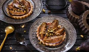 Tartelettes figues et pistaches