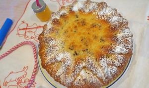 Cake mascarpone et raisins secs