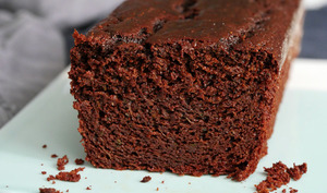Cake chocolat courgette