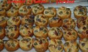 Bouchées Apéritives Olives ou Abricots