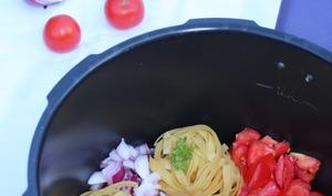 One pot pasta thon et tomates