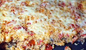 Gratin d'aubergines au quinoa