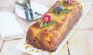 Gâteau aux pommes caramélisées façon tatin