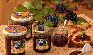 Gelée de raisin muscat noir