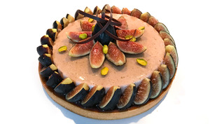 La tarte figue caramel de Stéphane Glacier