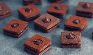 Sablés au chocolat et à la fève de Tonka
