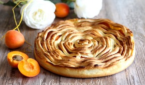 Tarte torsade abricot