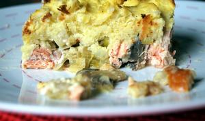 Fish pie aux poireaux