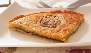 Tarte amandine aux poires et Nutella