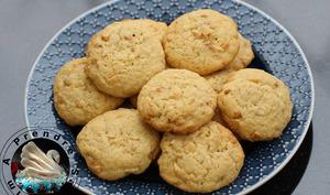 Cookies noix de pécan chocolat blanc