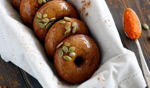 Donuts épicés à la citrouille