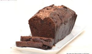 Quadruple chocolate loaf cake