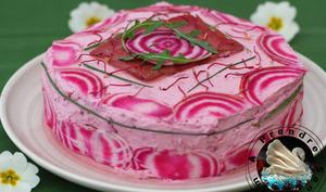 Sandwich cake bœuf betteraves