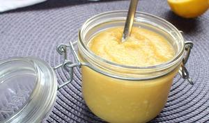 Crème citron façon lemon curd