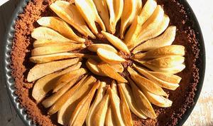 Tarte aux pommes ou poires et spéculoos