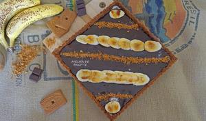 Tarte choco et banane