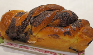 Babka au chocolat et à l'orange