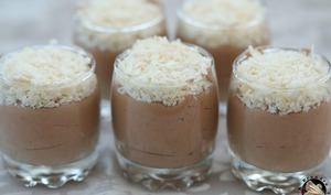Mousse coco chocolat