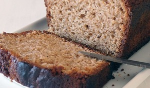 Gâteau au praliné de noisettes et miel
