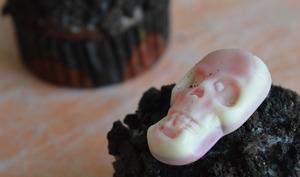 Cupcakes d'Halloween aux deux chocolats