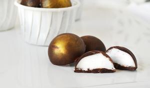 Chocolats à la guimauve