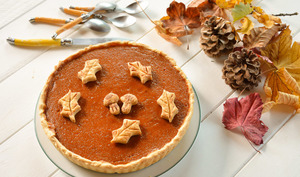 Tarte à la courge muscade façon pumpkin pie