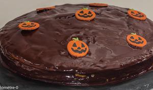 Gâteau d'Halloween au potimarron