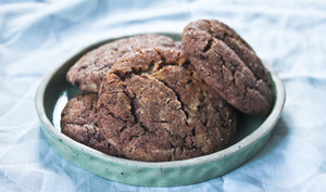 Cookies fondants au cacao