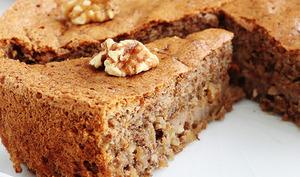 Gâteau aux noix moelleux